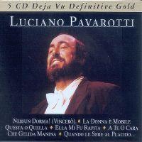Cover Luciano Pavarotti - Deja Vu Definitive Gold [Box-Set]